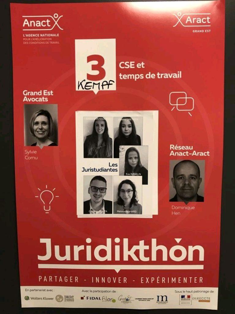 équipe juridikthon 2019